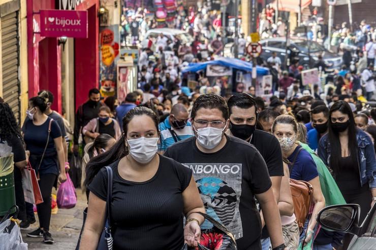 Sao Paulo brazil koronavirus