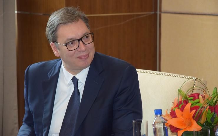 Aleksandar Vučić Peking, foto Tanjug Z. Mirković
