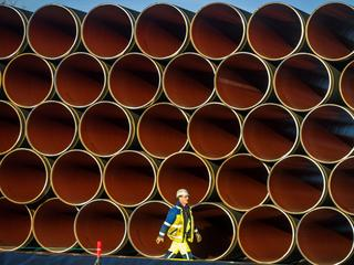 Pipes Delivered For Nord Stream Gas Pipeline