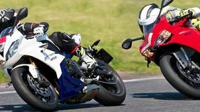Ducati 899 Panigale vs Triumph Daytona 675 - porównujemy na torze