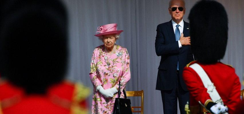 Królowa Elżbieta podjęła Bidenów. Jak dała sobie radę Jill Biden?
