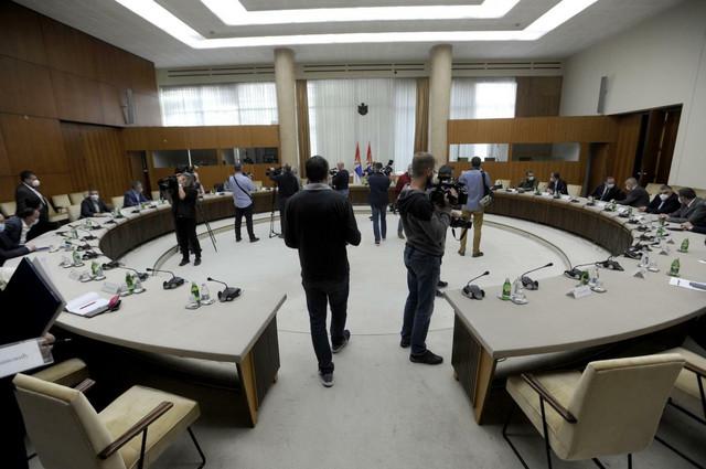Palata Srbije uoči početka sastanka