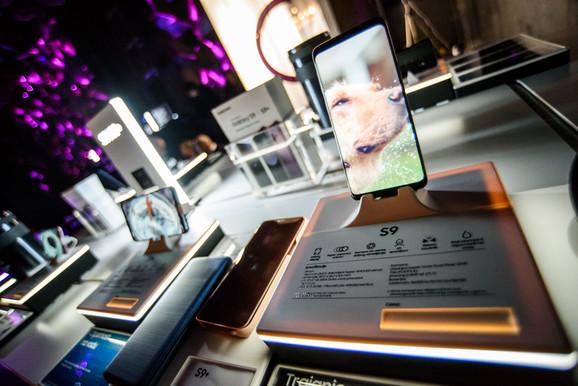Samsung Galaxy S9 i S9 + na predstavljanju u Srbijii