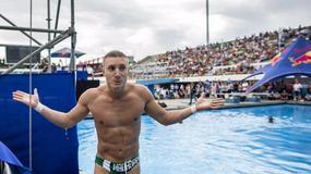 W drugim przystanku Red Bull Cliff Diving w La Rochelle zawalczy Krzysztof Kolanus