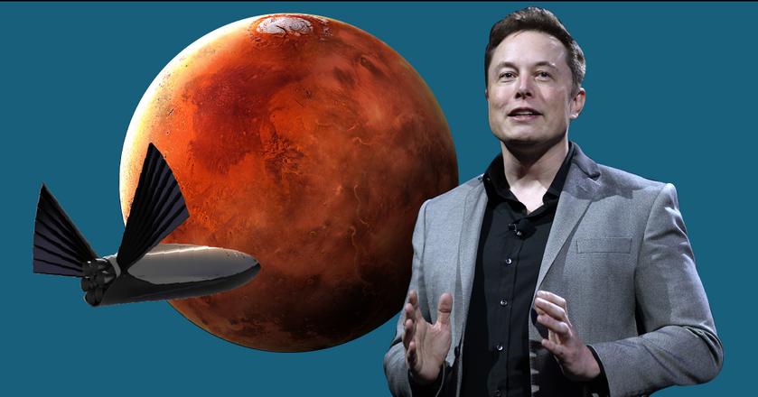 Elon Musk chce wysłać pierwsze bezzałogowe misje na Marsa już w 2022 roku