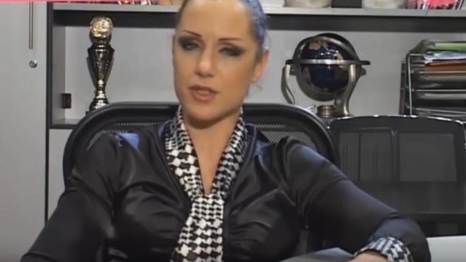Ljuba Pantović kao voditeljka