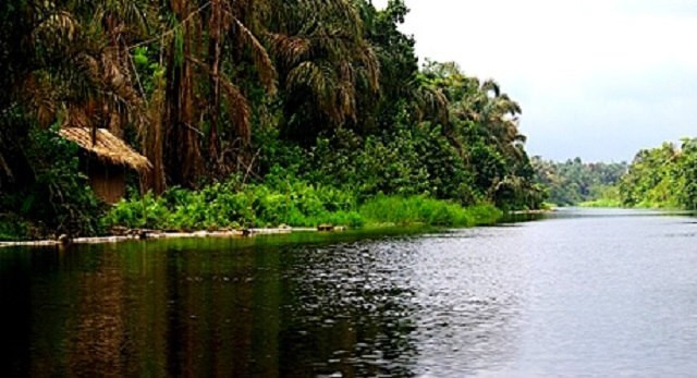 A river in Delta State