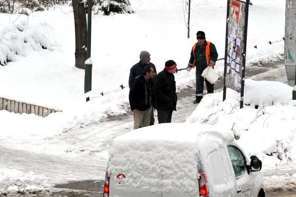 I Prijepoljci imaju problema zbog snega
