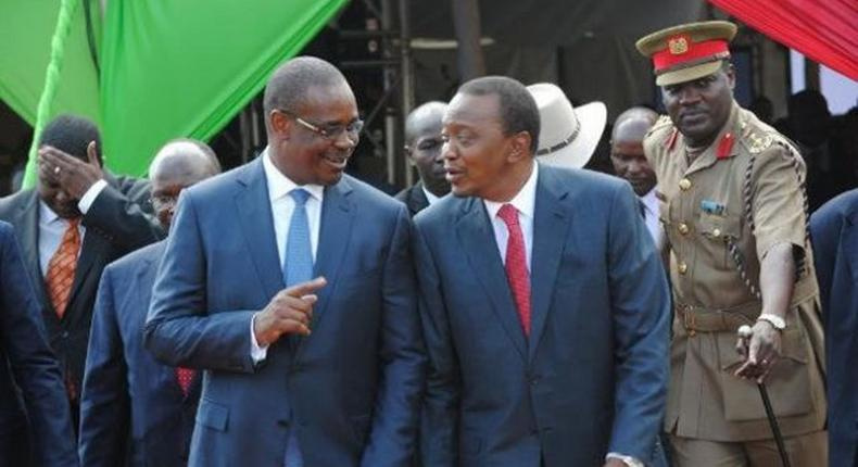Nairobi Governor and President Uhuru Kenyatta.