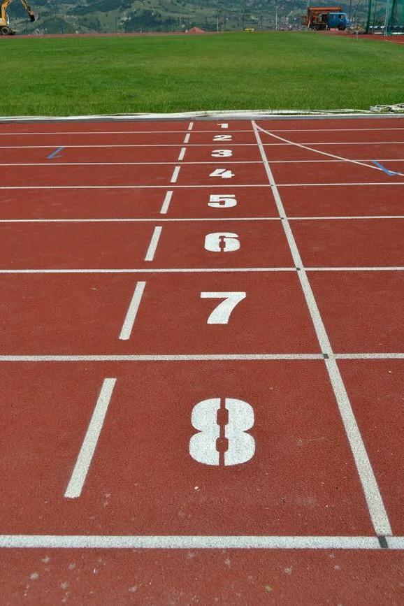 Atletska staza u Pazaru