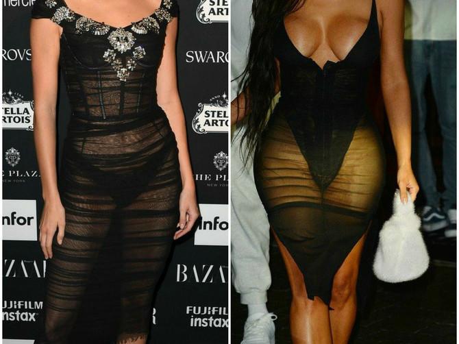 Dve žene i dve veoma slične haljine! Ko je ovde koga ISKOPIRAO!