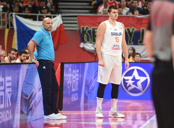 Aleksandar Đorđević i Nikola Jokić