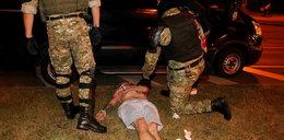 Przerażające sceny w Mińsku. Milicyjna ciężarówka potrąciła mężczyznę