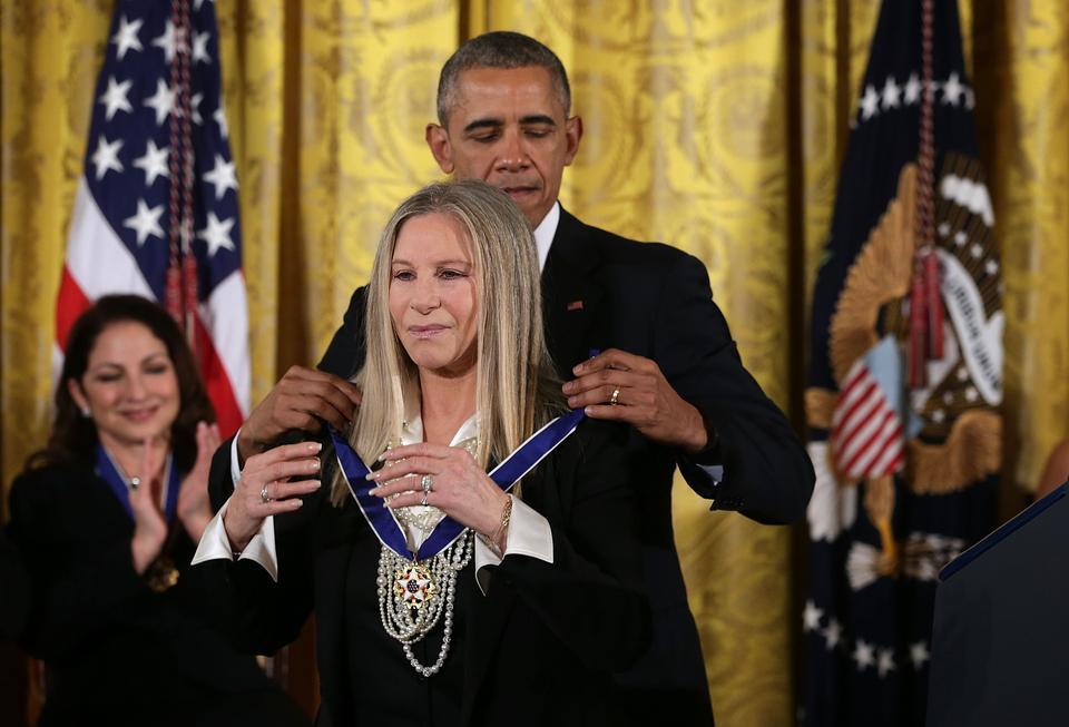 Barbra Streisand obecnie