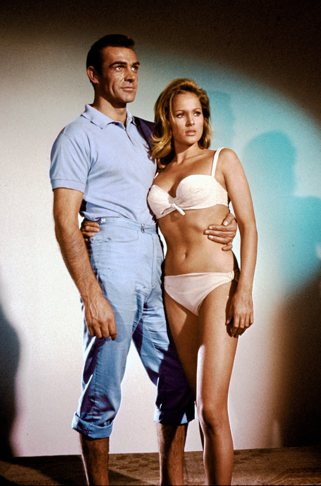 "Ursula Andress w filmie ""Doktor No"""