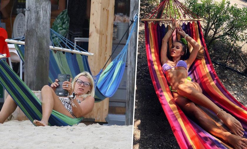 Maria Sadowska i Doda na wakacjach
