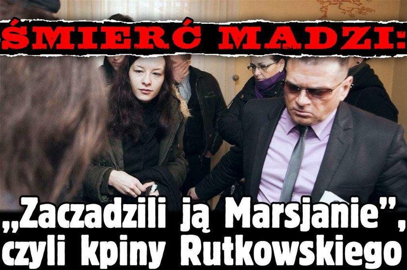 """Śmierć Madzi: """"Zaczadzili ją Marsjanie"""", czyli kpiny Rutkowskiego"""