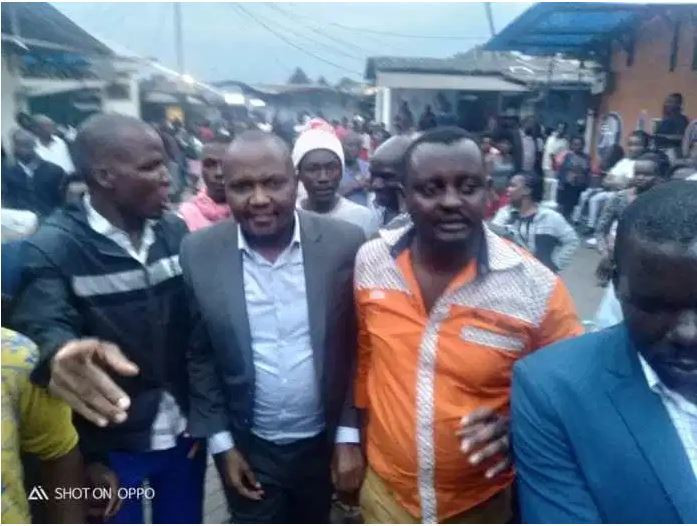 Moses Kuria storms Kibra to campaign for ODM candidate, badly attacks Mariga [Video]