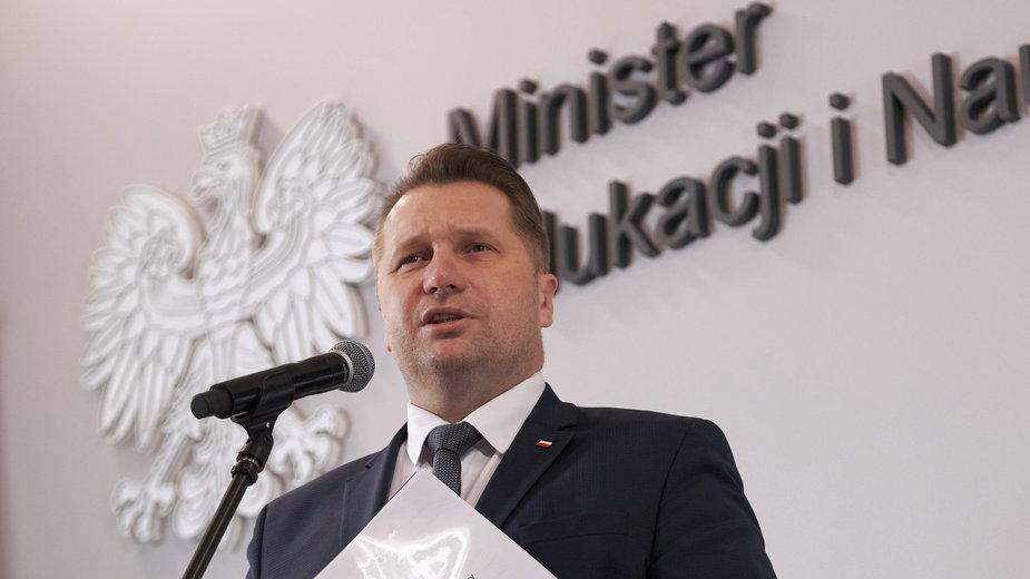 Uczniowie chcą odwołania Przemysława Czarnka