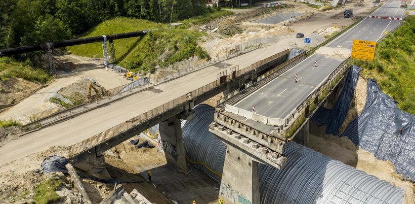 Po katastrofie rozbiorą stary wiadukt na DK 86