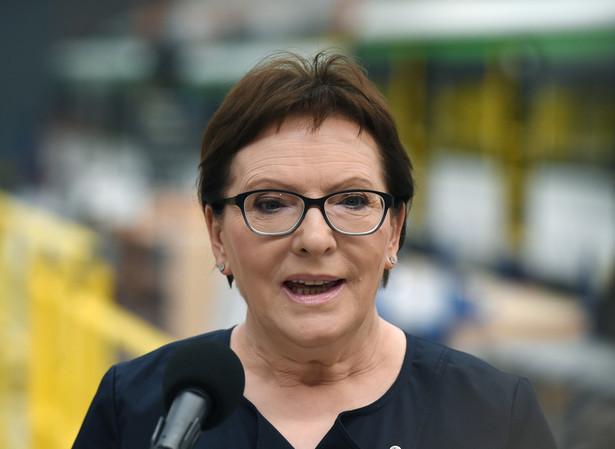 Premier dodała, że była zażenowana przebiegiem debaty nad tą ustawą, a zwłaszcza tym, co działo się w Senacie
