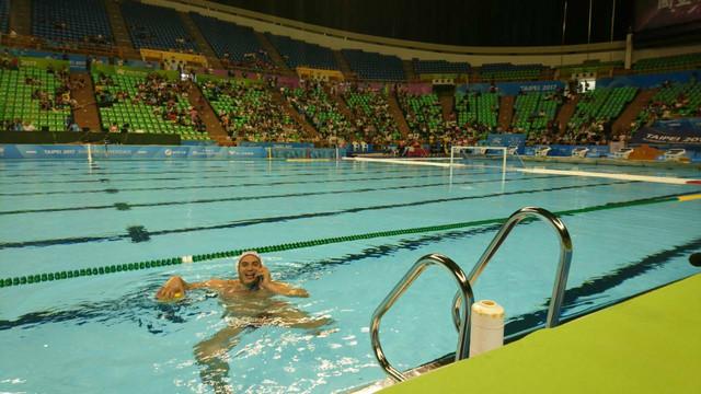 I Stefan Kovačević je završio u bazenu