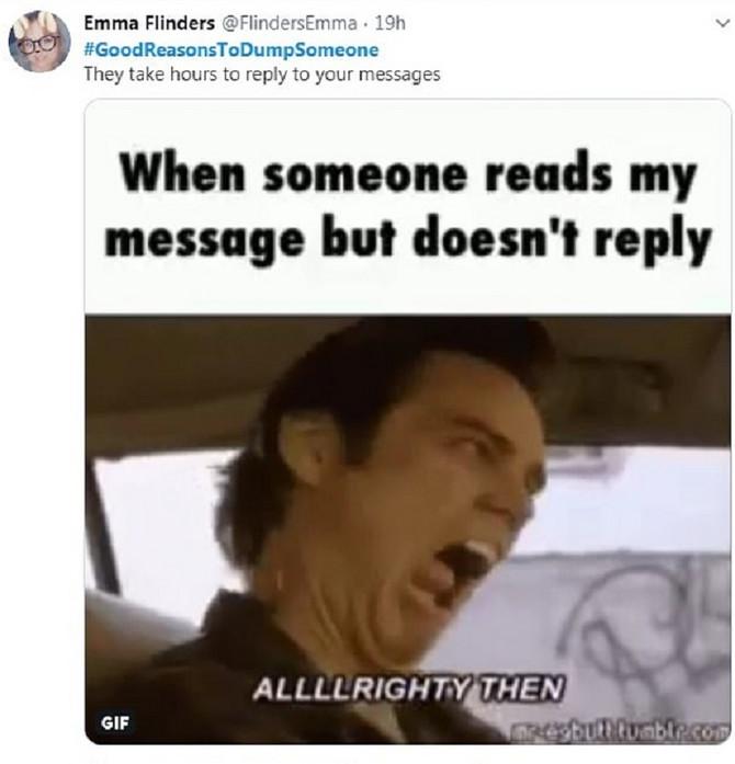 """""""Ne odgovora satima na poruke"""". Nepodnošljivo."""