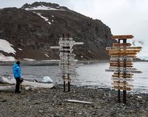 Wyspa Króla Jerzego, na której znajduje się Polska Stacja Antarktyczna  im. Henryka Arctowskiego