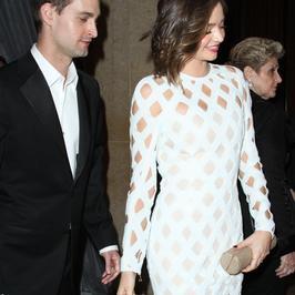 Miranda Kerr i Evan Spiegel po raz pierwszy razem na imprezie