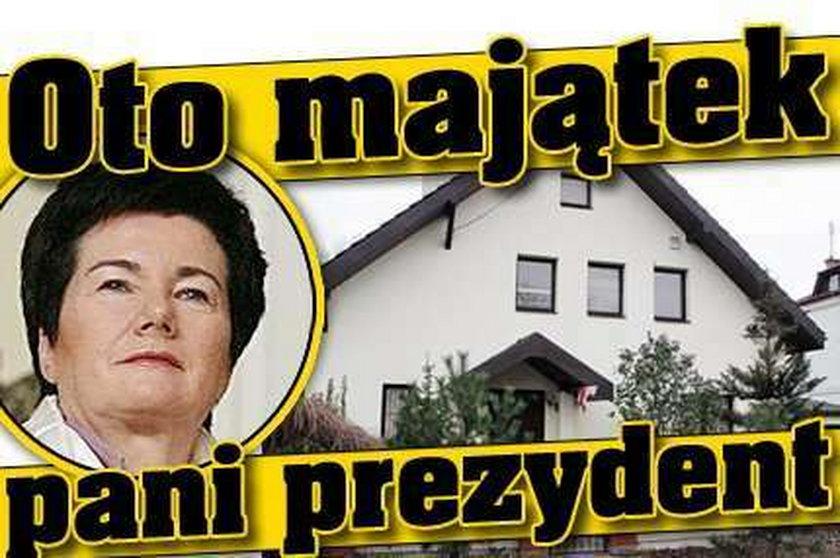 Oto majątek Gronkiewicz-Waltz
