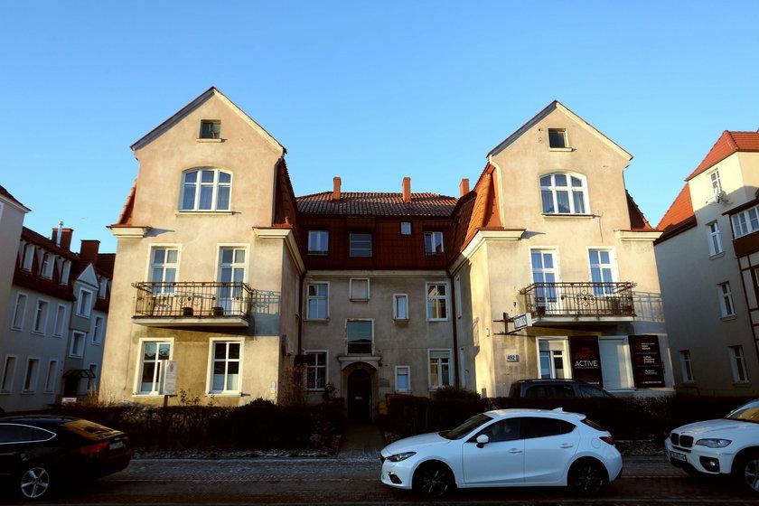 Rodzinny dom zabójcy prezydenta Adamowicza