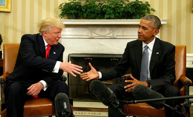 Prvi sastanak: Tramp i Obama u Beloj kući