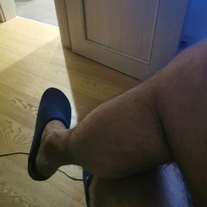 Ognjen Amidžić i njegove noge