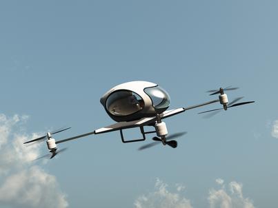 Pasażerskie drony mogą zrewolucjonizować lotnictwo. Ale nie będzie to kwestia najbliższych kilkunastu lat, podobnie jak samochody elektryczne nie wdarły się szturmem na drogi