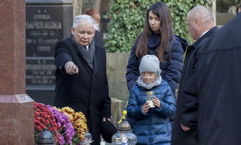 jarosław kaczyński marta kaczyńska cmentarz wszystkich świętych