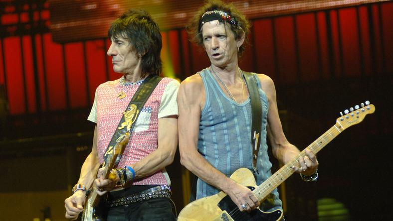 The Rolling Stones - Ronnie Wood i Keith Richards