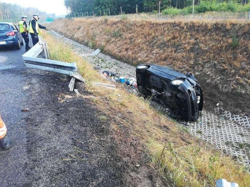 Zielona Góra: śmiertelny wypadek na S3. Nie żyje jedna osoba