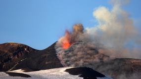 NASA opublikowała zdjęcie, na którym widać wybuch Etny
