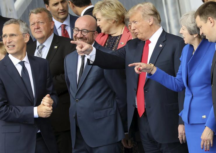 Tramp Samit Nato Brisel