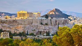 Gang nożowników okradał turystów przy ateńskim Akropolu