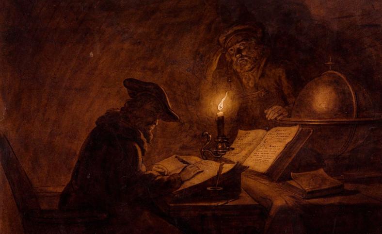 Michiel Versteegh, Uczeni w pracowni   The Scholars in their Study, przełom XVIII i XIX w.
