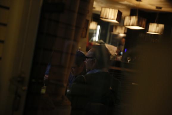 Kevin Spejsi na večeri u Beogradu