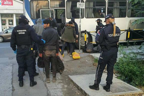 Na Starom gradu i Savskom vencu pronađen 91 ilegalni migrant