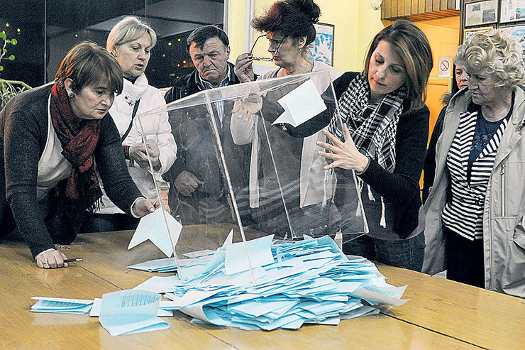 užice glasanje brojanje
