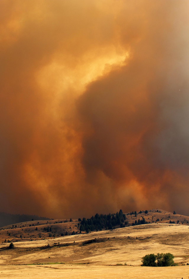 Požari u Oregonu - Kenjon Krik