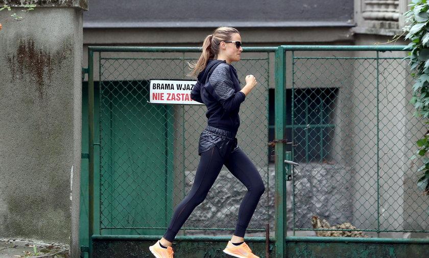 Alicja Bachleda Curuś biega