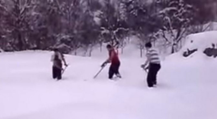 visegradska kosevina sneg snimak
