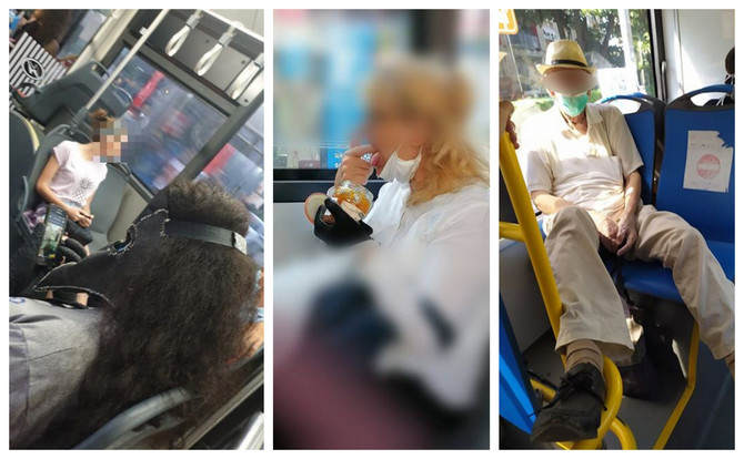 Slike iz gradskog prevoza o kojima se priča na Fejsbuku