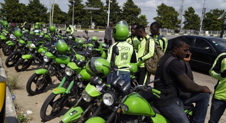 ORide bikes in Lagos