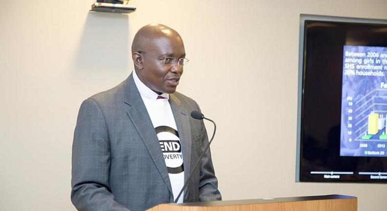 The Country Director of the World Bank, Henry Kerali